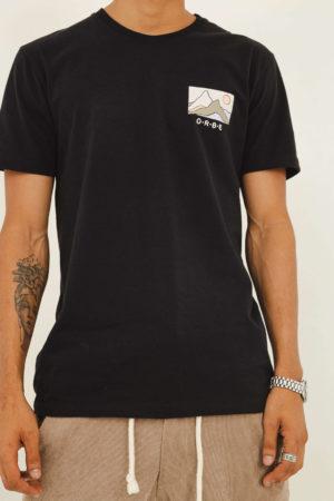 T-shirt Desert – Preta