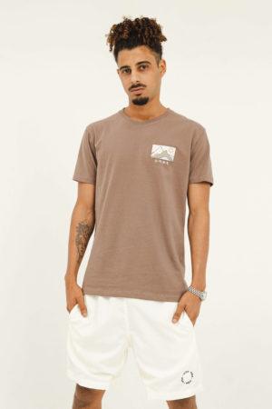 T-shirt Desert – Marrom