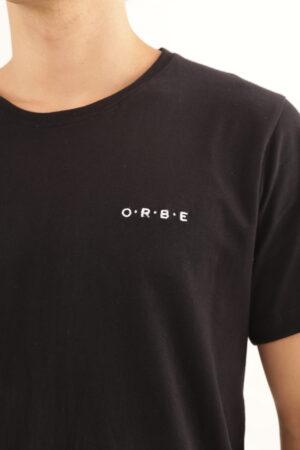 T-shirt Orbe – Preta
