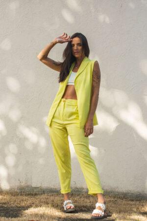 Colete Italian – Verde Limão