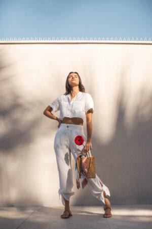Camisa Cropped – Branca