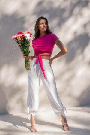 Blusa Laço – Rosa